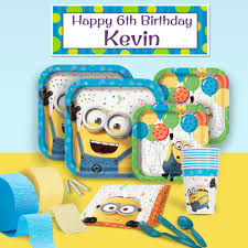 Minions Party Despicable Me Minions Birthday Party Supplies Theme Party Packs