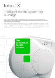 tebis tx intelligent control system for buildings hager pdf
