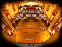 Arvest Midland Seating Chart Seating Chart Arvest Bank Theatre At The Midland