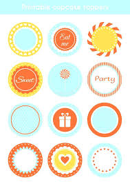 Cupcake Topper Template Free Download Lynnlevyco