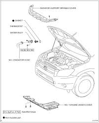 Toyota RAV4 Service Manual: Thermostat - 2Az-fe charging