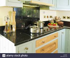 Kitchen Granite Worktop Granite Worktop Stock Photos Granite Worktop Stock Images Alamy