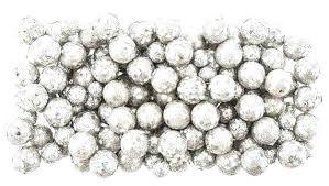 Small Decorative Balls New Vase Filler Balls Silver Vase Fillers Silver Glitter Foam Balls Vase