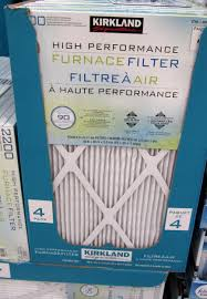 furnace filters costco. Brilliant Furnace Kirkland Signature Furnace Filters  2200 High Performance 16 X 25 1  4 Pack 4699 And Costco