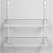 how to install wire closet shelves rubbermaid wire shelving allin details easy ways