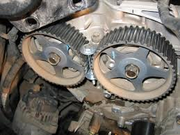 replaced my timing belt and water pump pics and tips kia forum