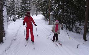 Как правильно кататься на лыжах какие возможны техники катания на  туристический стиль катания на лыжах