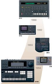 yamaha qy. qy series\u2014pioneer of the new style sequencer genre yamaha qy d