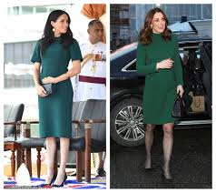 Image result for meghan markle and kate middleton fashion