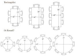 table size for 6 round table size for 6 amaze interior design 8 6 seater oval table size for 6