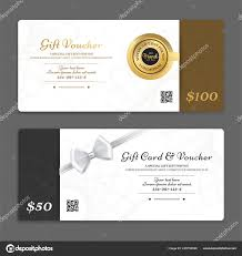 gift card formats gift certificate voucher gift card cash coupon template