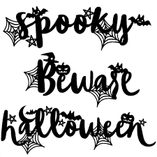 You have chosen the 'halloween' premade list. Halloween Words Scrapbook Cut File Cute Clipart Files For Silhouette Cricut Pazzles Free Svgs Free Svg Cuts Cute Cut Filess