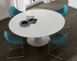 white round dining table. Jesse Moon Extending Dining Table White Round