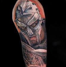 Gladiator Tattoo Features Meaning