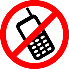 No Cell Phone Sign Printable Printable No Cell Phone Sign Clipart Best