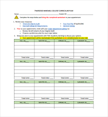 curriculum template sample curriculum planning template 9 free documents in pdf word