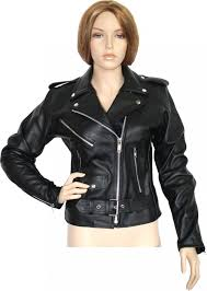 woman leather motorcycle rockabilly rocker chopper brando jacket