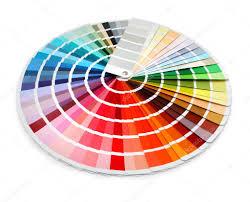 Spectrum Chart Designer Color Chart Spectrum Stock Photo Anterovium