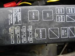 2003 toyota tacoma fuse box image details 1985 Toyota Pickup Won't Start at 1985 Toyota Pickup Fuse Box Location