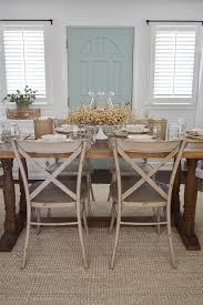 fall dining room table decorating ideas. Easy Summer To Fall Dining Room Decorating Ideas - Cottage Farmhouse, Farm Table, Centerpiece Table