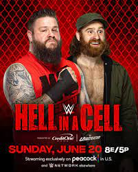 WWE Hell In A Cell 2021 Updated Full Card After Smackdown