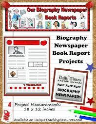 Newspaper Book Report Template Extra Newspaper Template