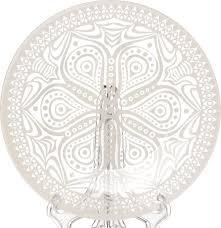 "<b>Тарелка Pasabahce</b> ""Бохо"", цвет: бежевый, диаметр 19,5 см ..."