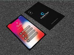 Iphone Business Card Design Iphone Business Card Sarahperacha Ideas