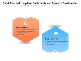 short term and long term goals for