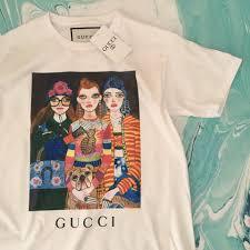 Gucci Fashion <b>girls</b>. Белая <b>футболка</b> женская, цена 349 грн ...