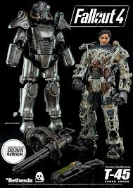 Power Armor Display Stand 100100th Scale Fallout 100 T1005 Power Armor By Threezero For PreOrder 99