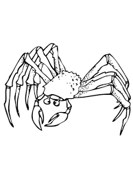 Small Picture Ghost Crab coloring page Free Printable Coloring Pages
