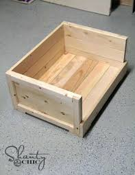 wooden dog bed plans pet bed shanty 2 chic wooden dog bed frame plans