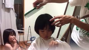 四歳男の子 髪型 自宅でヘアカットhow To Cut A Boys Hair Youtube