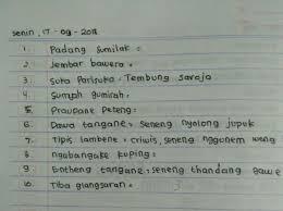 Check spelling or type a new query. Jawaban Gladhen Wulangan 5 Kelas 10 File Ini
