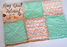 diy rag quilt tutorial c and co how