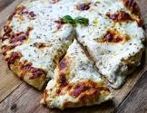 amazing ny style white garlic pizza