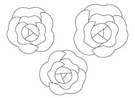花植物のぬりえ素材 ぬりえパーク 3