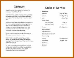 Obituary Template Microsoft Word 2 3 Obituary Template Word