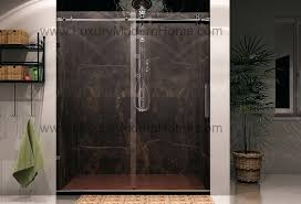 alternatives to glass shower doors best sliding over tub clear
