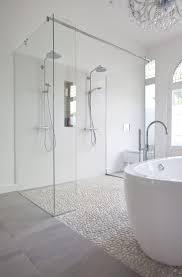 white pebble tile pebble tilespebble tile shower floortextured tiles bathroomclean