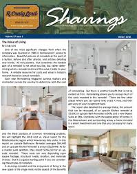 Interior Design Newsletter Awesome Newsletters R Craig Lord Construction Co