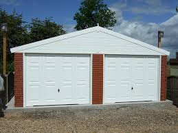 Garage Door monarch garage doors photos : Monarch Concrete Garages - All Sheds