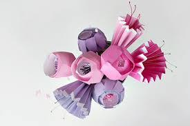 Paper Flower Folding Make A Bunch Of The Prettiest Paper Flowers