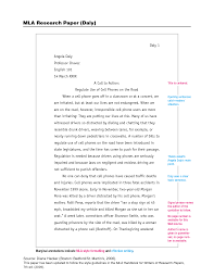 to write mla research paper formatting a research paper the mla style center
