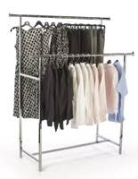 Apparel Display Stands Clothing Garment Racks Rolling Stationary 18
