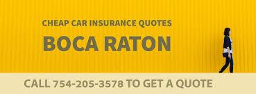 car insurance quotes boca raton fl