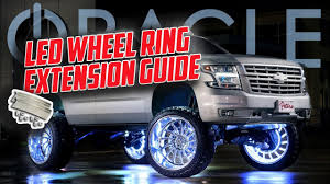 How To Install Wheel Ring Lights Oracle Led Wheel Rings Extension Install