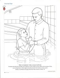 Jesus Being Baptized Coloring Page With Baptism Aprenda Co