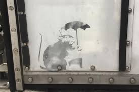 「banksy mouse umbrella」の画像検索結果